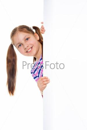 Девочка с билбордом