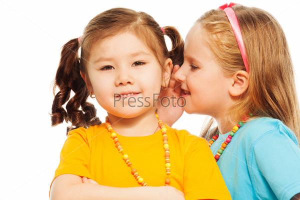 Фотография на тему Секреты маленьких подружек