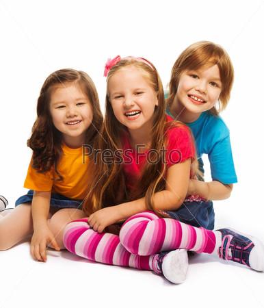 Фотография на тему Трое семилетних детей
