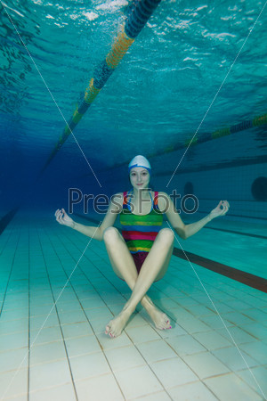 Подводная йога