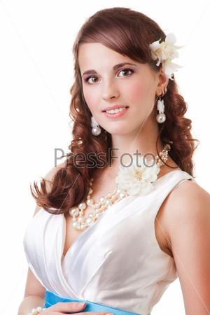Фотография на тему Портрет счастливой невесты