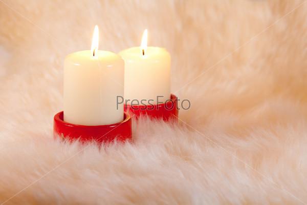 Свечи на меху