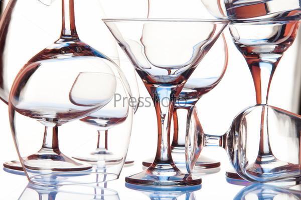 Фотография на тему Стеклянные бокалы