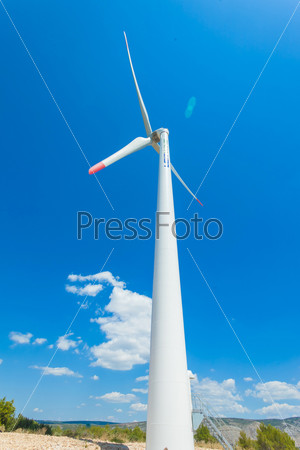Фотография на тему Ветряная турбина