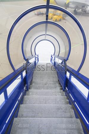 Лестница для посадки в самолет