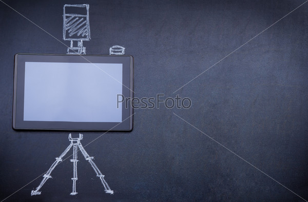 Планшетный компьютер вместо фотоаппарата