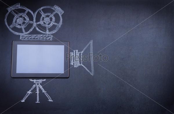 Планшетный компьютер вместо кинокамеры