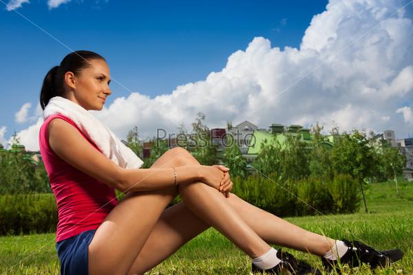 Перерыв во время пробежки