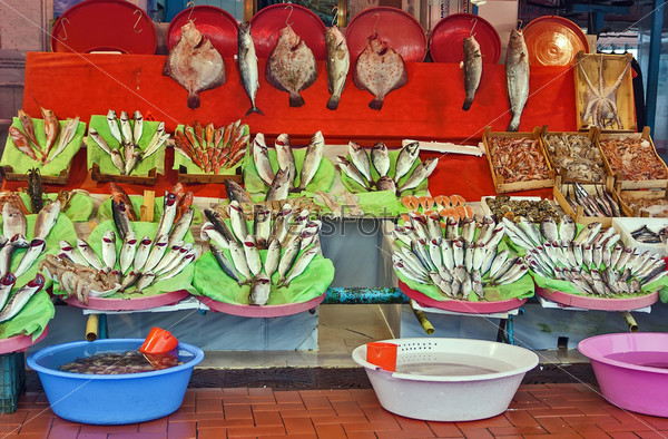 Рыбный рынок, Стамбул