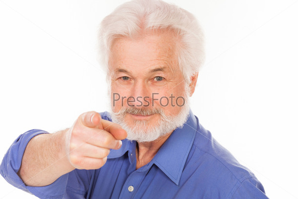 Портрет пожилого человека с бородой