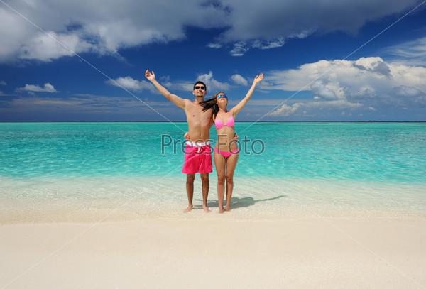 Фотография на тему Пара на Мальдивах