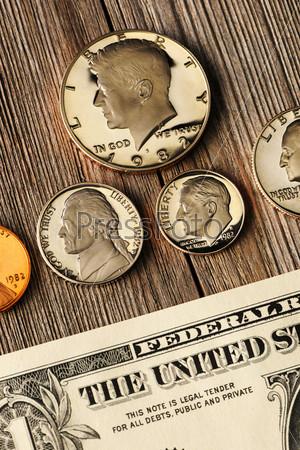 Фотография на тему Монеты США