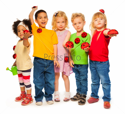 Фотография на тему Группа детей