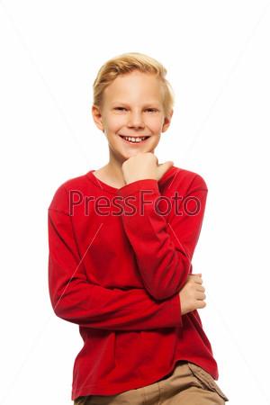 Портрет мальчика-подростка
