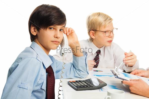 Бизнес-обучение школьников