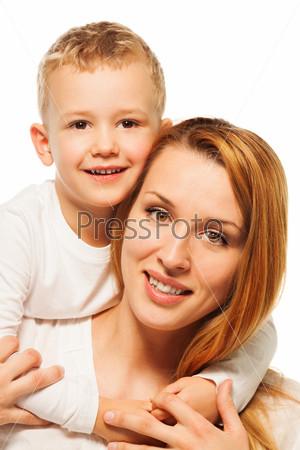 Фотография на тему Мать и сын