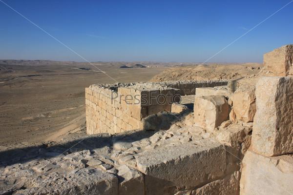 Руины древнего города Авдат