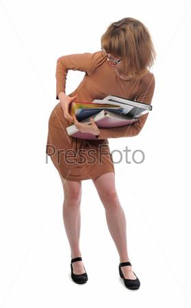 Фотография на тему Занятая женщина
