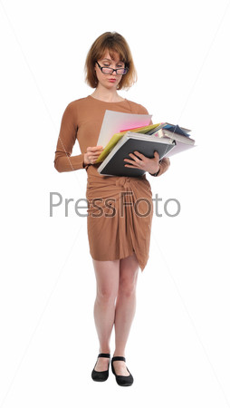 Занятая женщина