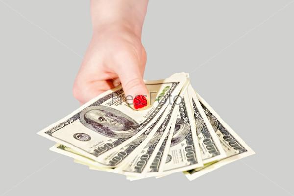 Фотография на тему Деньги в руке