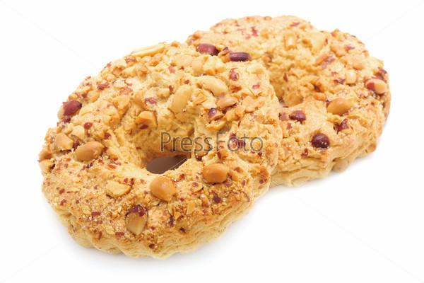 Два песчаных кольцо с арахисом