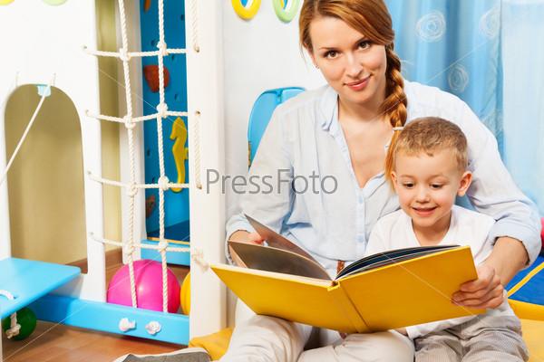 Фотография на тему Мама с сыном