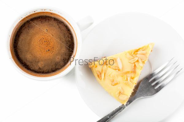 Кофе и пирог
