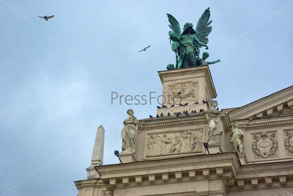 Фотография на тему Статуя ангела