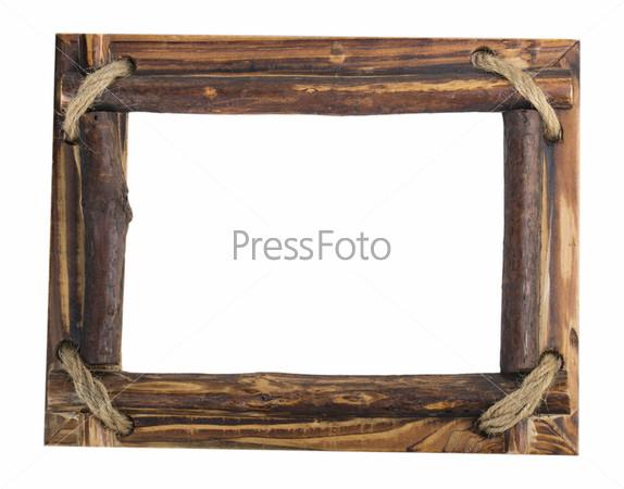 Фотография на тему Деревянная рамка