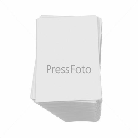 Стопка белой бумаги