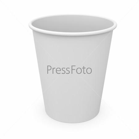 Фотография на тему Белый бумажный стаканчик