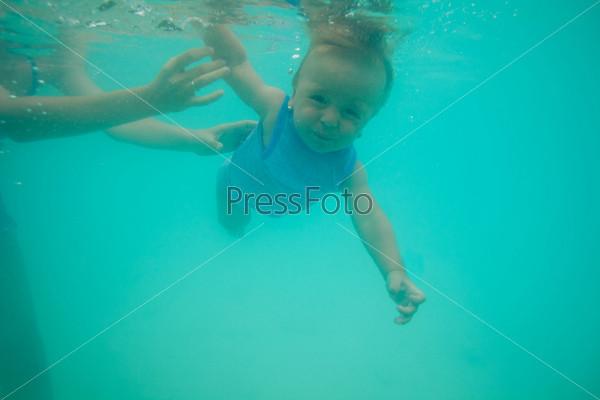 Урок плавания