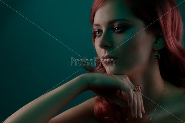Фотография на тему Крупный портрет женщины