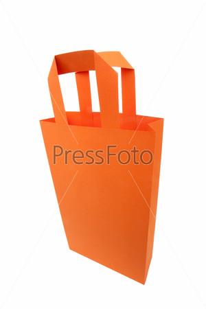 Оранжевый пакет