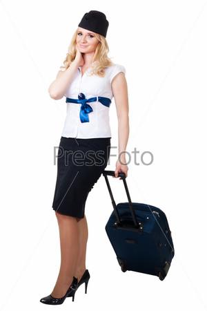 Фотография на тему Счастливая стюардесса