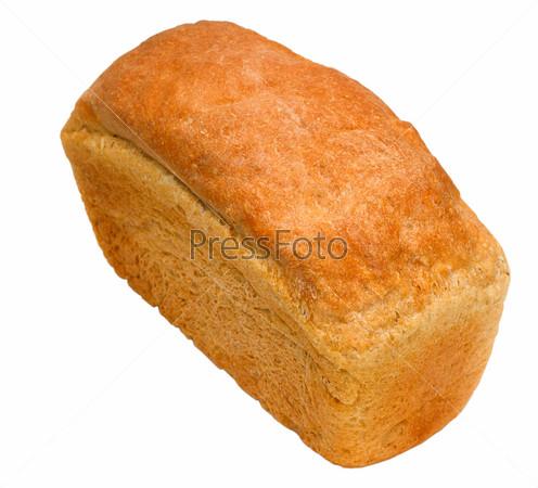 Буханка хлеба, изолировано