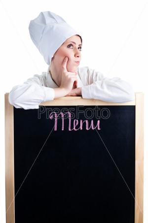 Шеф-повар думает о меню