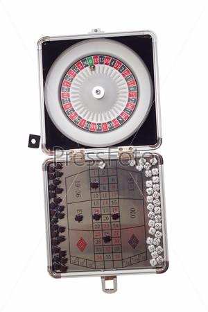 Изолированная настольная игра американская рулеткаые