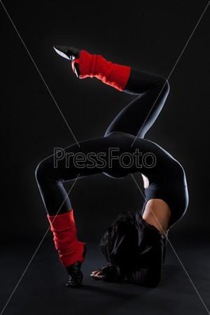 Стильный танцор