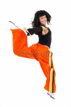 Фотография на тему Прыгающая танцовщица