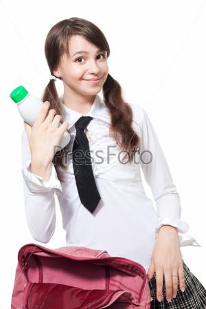 Фотография на тему Обеденный перерыв в школе
