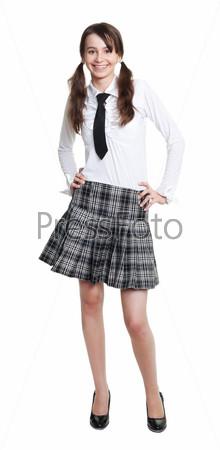 Школьница-подросток