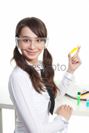 Фотография на тему Изучать химию