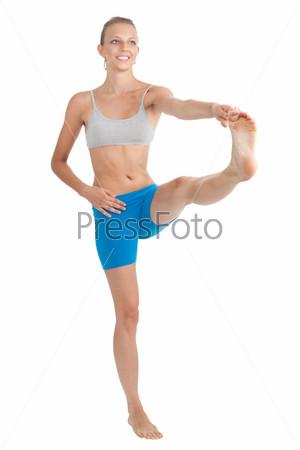 Гимнастка