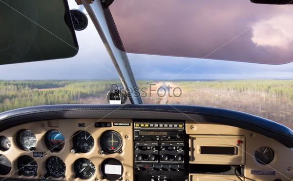 Фотография на тему Вид из кабины