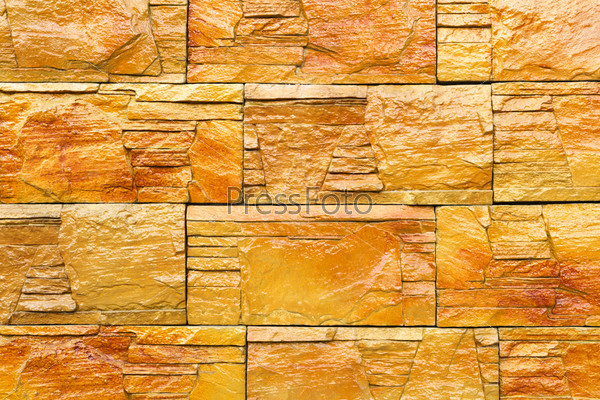 Фотография на тему Мокрая каменная стена