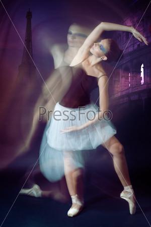 Фотография на тему Балерина в движении