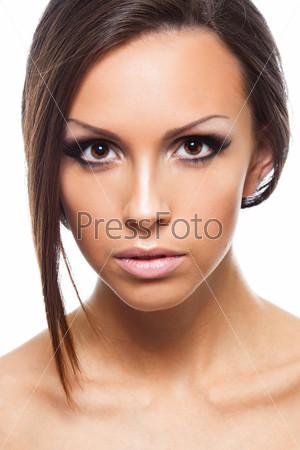 Красивое лицо