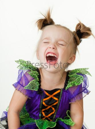 Фотография на тему Девочка смеется