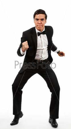 Фотография на тему Деловой человек готов бороться